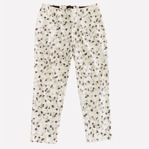 Peserico High Rise Crop Pants